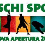 Striscione prossima apertura Boschi Sport Club Torino