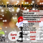 Cena sociale Boschi Sport club