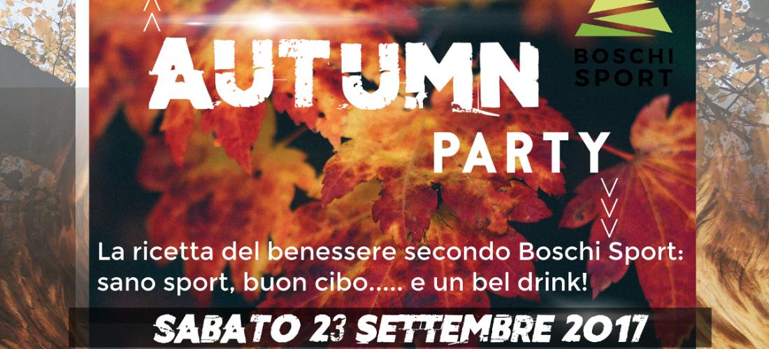 Autumn party – Cibo, sport e divertimento.