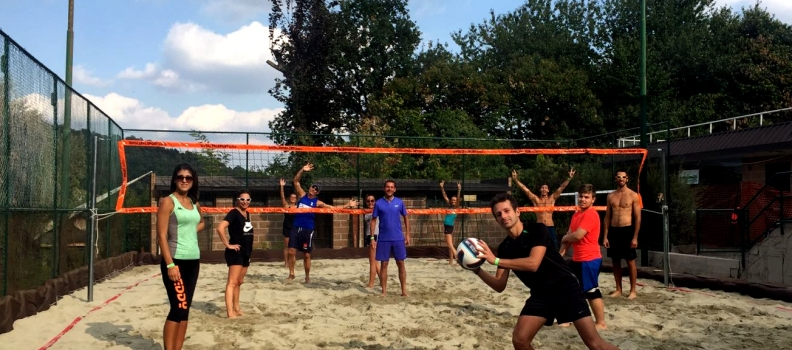 Nuovo campo da beach volley